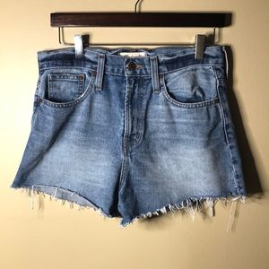 Madewell the perfect fit jean short